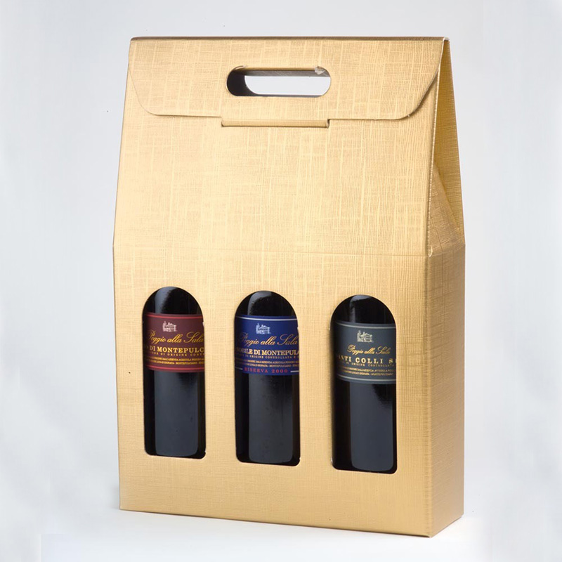 Wine Bottle Box 6 Bottle Wine Box Luxury Wine Box Wine Shipping