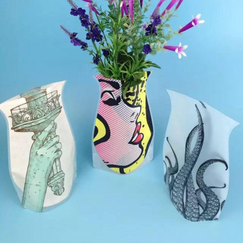 Vazu Vase Bag Flower Vaselower Vase Center Piecevase Plastic