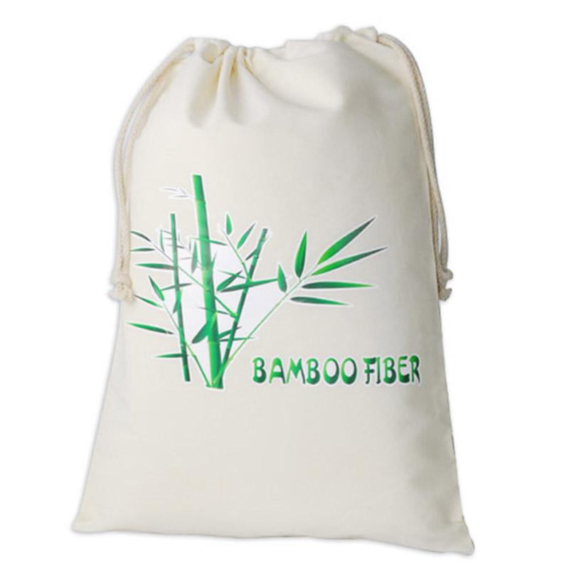 a4cdf68b2c 100% biodegradable bamboo fiber drawstring bag